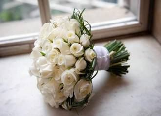 wedding bouquet - contact